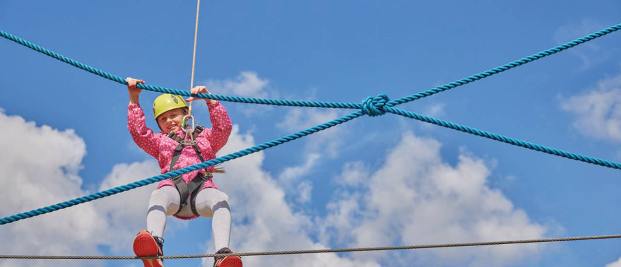 New brand image - high ropes