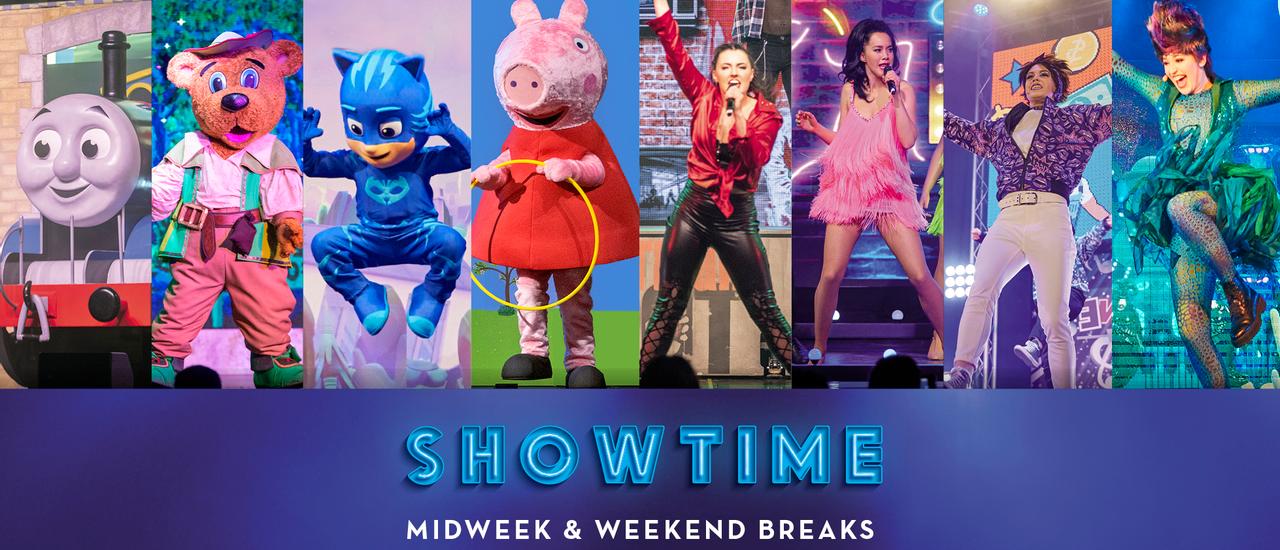 Showtime Midweek and Weekend breaks